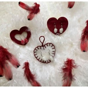 Boucle d'oreille Valentine